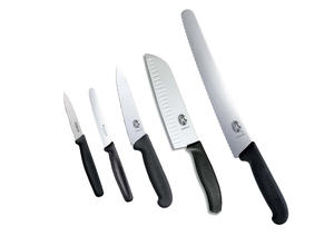 Köksset Victorinox (lilla), 5 knivar