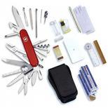 Pocket knife with SOS-set (B)
