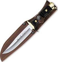 Hunting knife 4.2242 plastic/leather sheath, 12 cm
