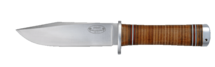 Knife NL4, 13 cm / leather handle