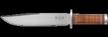 Knife NL1, 25 cm / leather handle