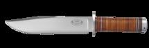 Kniv NL2, 20 cm / läderhandtag (B)