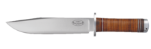 Knife NL2, 20 cm / leather handle