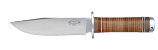 Knife NL3, 15 cm / leather handle