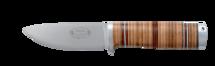 Kniv NL5, 10 cm / läderhandtag (B)