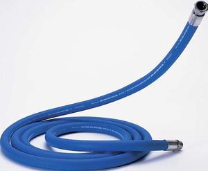 Slangbit gummi TK19, blå/vit (95 grader C) (4,5 m)