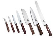 Kitchen set Victorinox (large), 7 knives wood