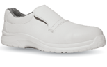 Shoe U-power, white with steel cap