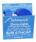 Plåster plast 6754 blå (30 st) (2)