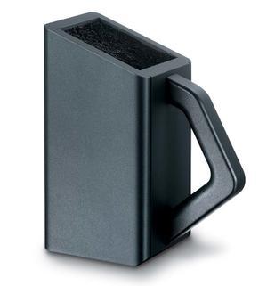 Knivblock 7.7043.03, svart bok (utan knivar)