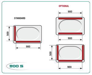 Vakuummaskin Lapack 900/S, 400V (B2)