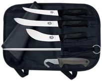 Hunting set Victorinox, 4 knives + steel