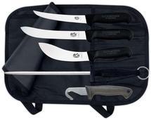 Hunting set Victorinox, 4 knives + steel