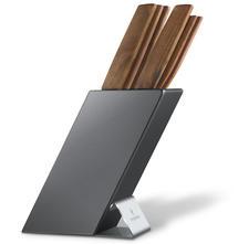 Knife block Victorinox 6.7185.6, knives in walnut